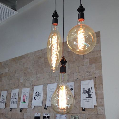 "3.5K-F5 13"" Double Helix Filament Elongated Bulb"