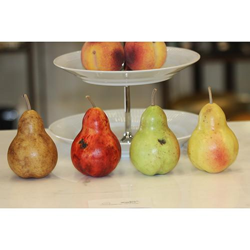 Large Pear Italian Carrara Marble Stone Fruit