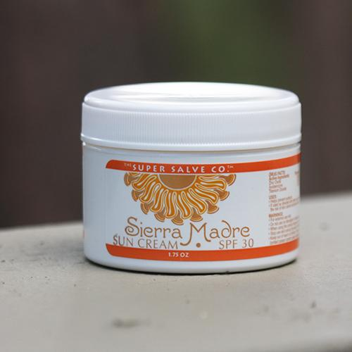 Sierra Madre SPF 30 Sun Cream by Super Salve Co.