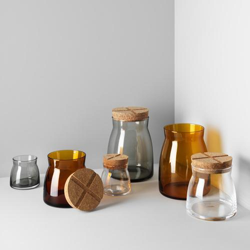 Bruk Small Jars by Anna Ehrner for Kosta Boda