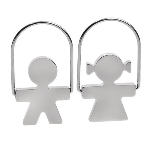 Girotondo Key Ring by King-Kong for Alessi