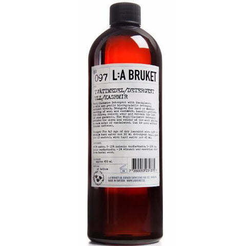 No. 097 Wool/Cashmere Sandalwood Laundry Detergent by L:A Bruket