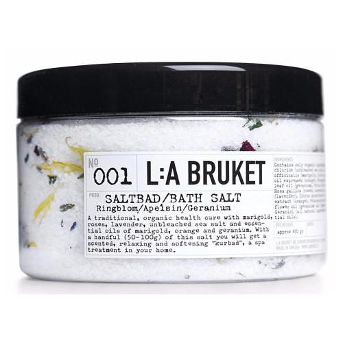 No. 001 Marigold/Orange/Geranium Bath Salt by L:A Bruket