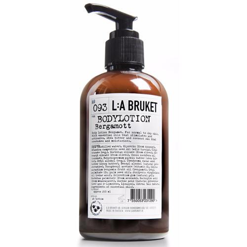 No. 093 Bergamot/Patchouli Body Lotion by L:A Bruket