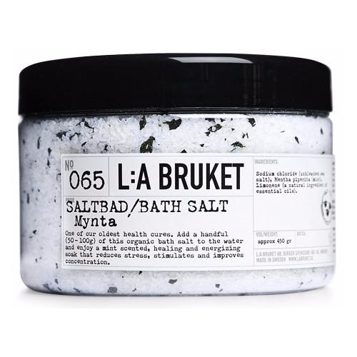No. 065 Mint Bath Salt by L:A Bruket