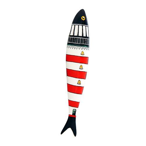 Lighthouse Sardine by Ana Sofia Goncalves for Bordallo Pinheiro