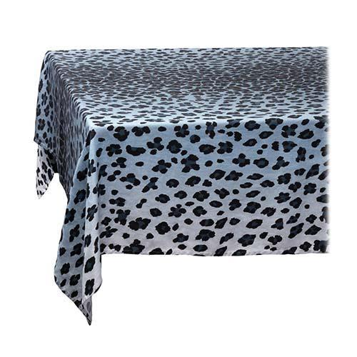 Leopard Linen Sateen Tablecloth by L'Objet