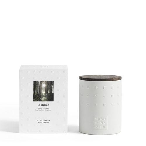 Escapes Collection: LYSNING Candle by Skandinavisk