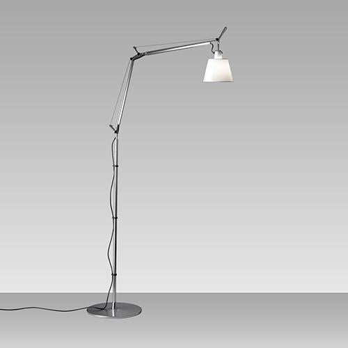 Tolomeo Task Lamp with Shade, Floor Version by Michele de Lucchi for Artemide