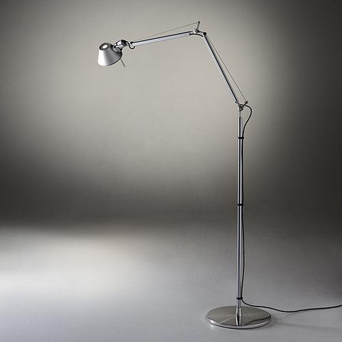 Tolomeo Mini Task Lamp, Floor Verson by Michele de Lucchi for Artemide