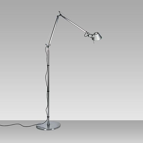 Tolomeo Micro Task Lamp, Floor Version by Michele de Lucchi for Artemide