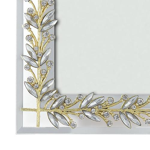 Laurel Frame Close up, Gold & Silver by Olivia Riegel