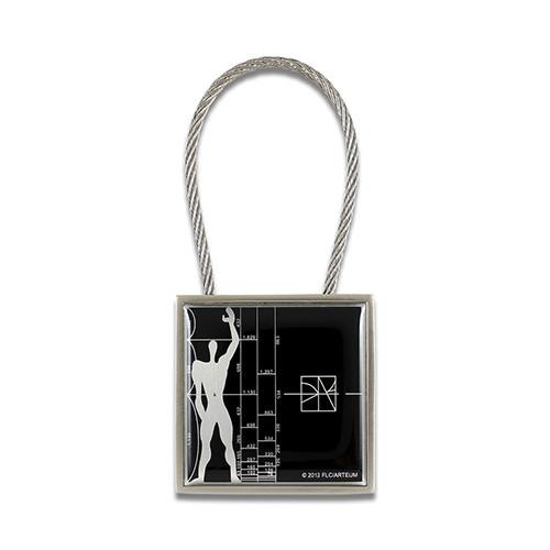 Le Modulor/Figure Key Ring by Le Corbusier & Acme Studio