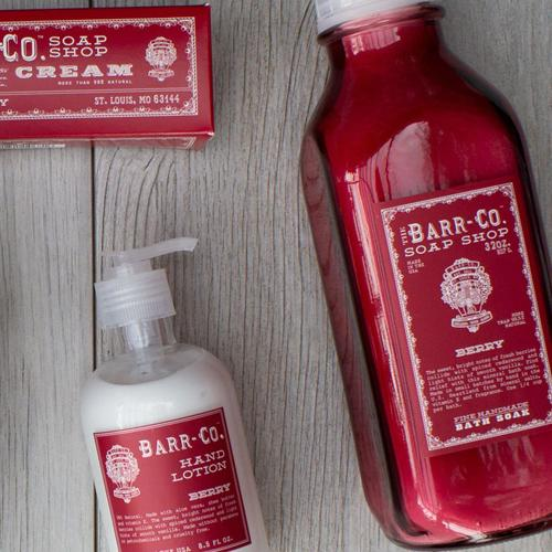 Barr-Co. Soap Shop Berry Bar Soap