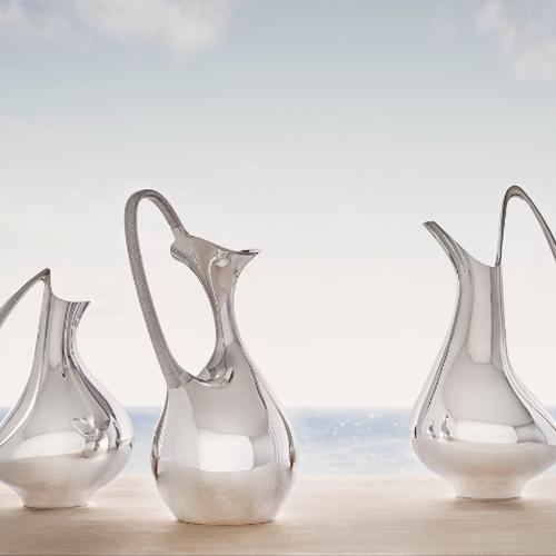 The Swan Pitcher, Sterling by Henning Koppel for Georg Jensen