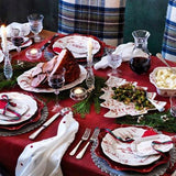 Country Estate Winter Frolic Ruby Tree Platter, 12 Days of Christmas by Juliska