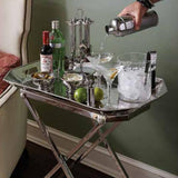 Graham Bar Tray & Stand Set in a lifestyle with other products by Juliska