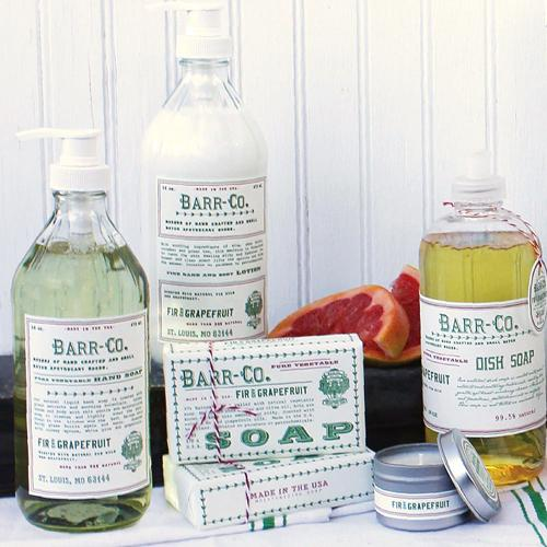 Barr-Co. Fir & Grapefruit Dish Soap