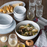 "Quotidien White Truffle 10"" Serving Bowl by Juliska"