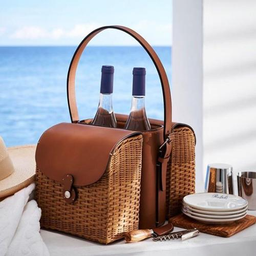 0bfc3ac72bb18 Bailey Wine and Cheese Tote by Ralph Lauren – Amusespot