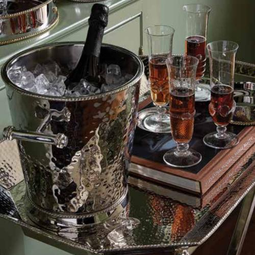 Graham Wine Cooler in a lifestyle with other products by Juliska