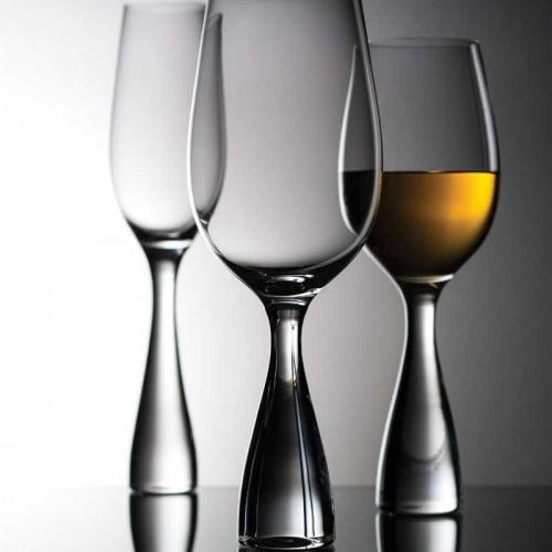 Wine Party Champagne Glasses Set of 2 by Ron Arad for Nude