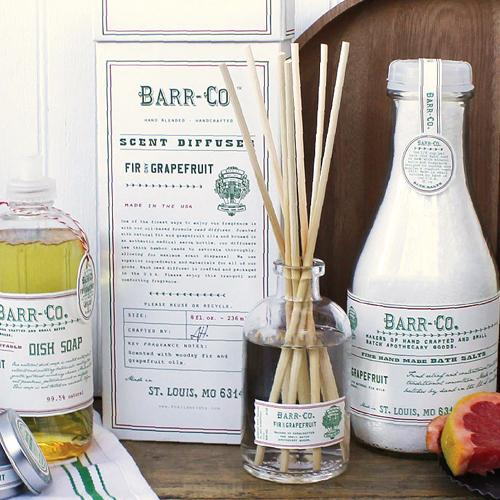 Barr-Co. Fir & Grapefruit Diffuser Kit