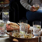 Heritage Collectors Highballs in a lifestyle with other products by Juliska