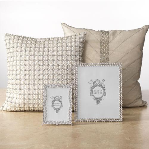 Anna Pillow,  Silver by Olivia Riegel