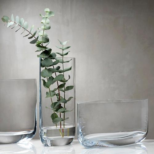 Blade Wide Vase by Pentagon Design for Nude