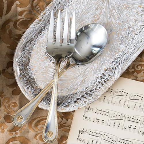 Berry and Thread Bright Satin Meat Fork by Juliska