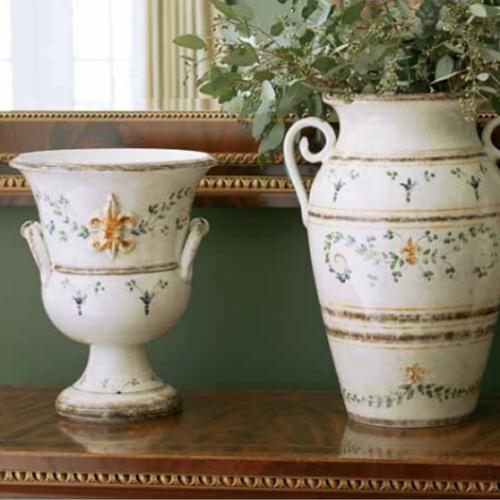 Medici Footed Planter lifestyle by Arte Italica