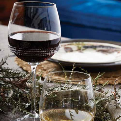Dean Wine Glass in lifestyle image by Juliska