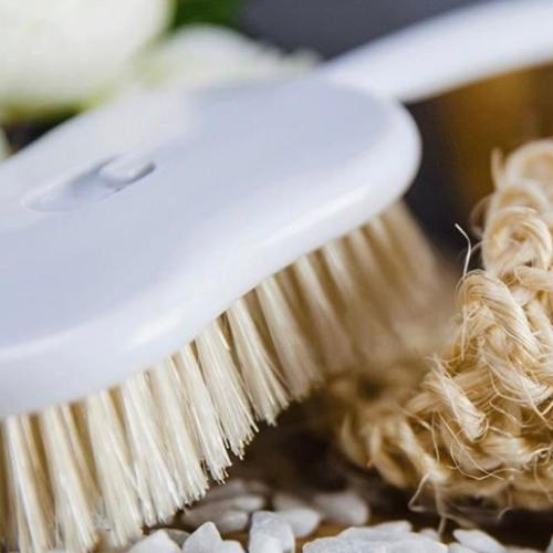 Natural Bristle Bath & Body Brush by Koh-I-Noor Italy