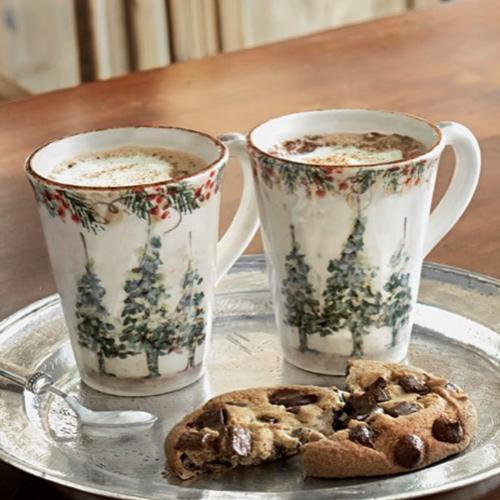 Natale Mug in a lifestyle image by Arte Italica
