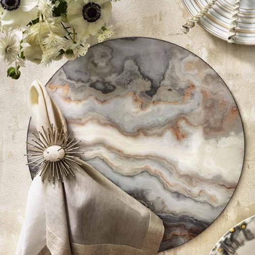 Agate Placemat, Set of 4 by Kim Seybert