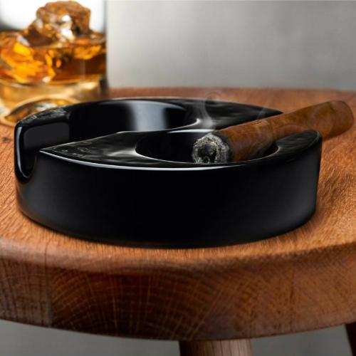 Altruist Cigar Ashtray, Black by Nude