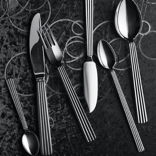 Cold Cut Fork by Sigvard Bernadotte for Georg Jensen