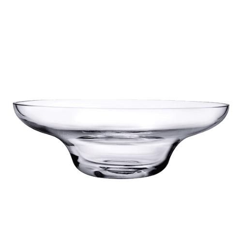 Heads Up Low Profile Glass Bowl by Nigel Coates for Nude