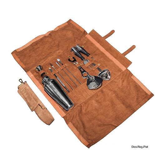 Lux Roll Bartenders Kit by Uber Tools
