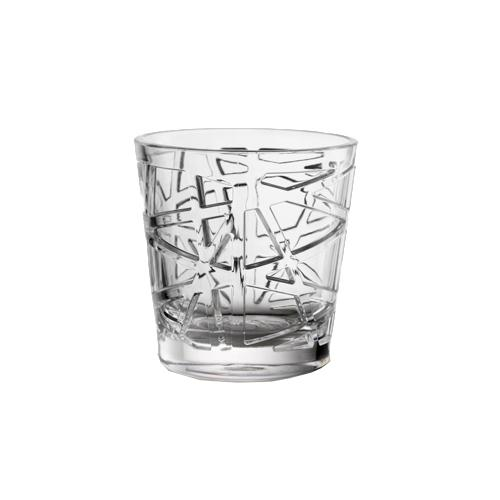 David Synthetic Crystal Acrylic Glass, 13 oz. by Mario Luca Giusti