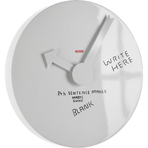 Blank Wall Clock by Marti Guixe for Alessi