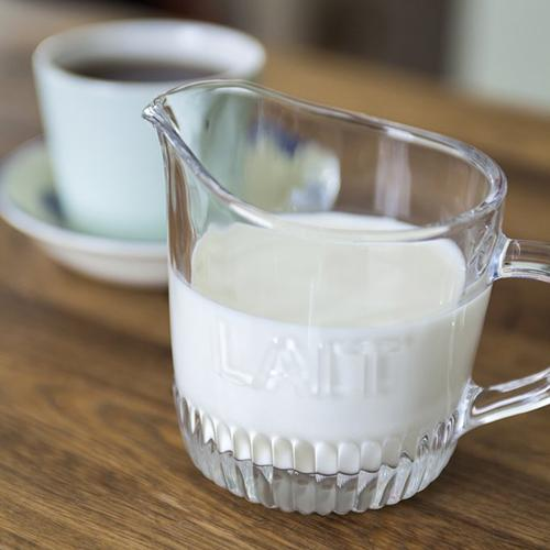 Lait Milk French Depression Glass Creamer