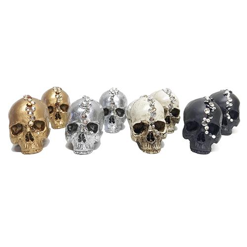 Petite Cascade Skull by Lisa Carrier Designs