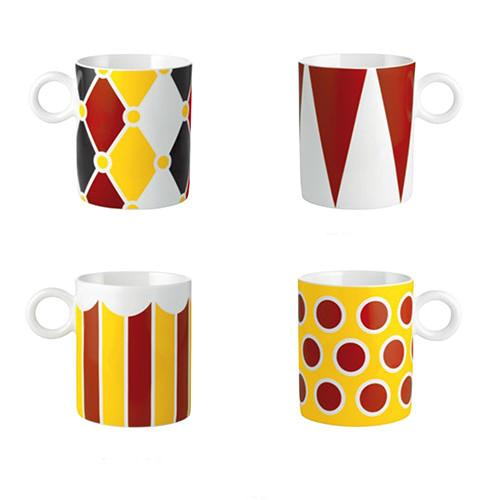 Circus Coffee Mug by Marcel Wanders for Alessi