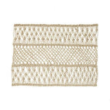 Macrame Natural Placemat by Juliska