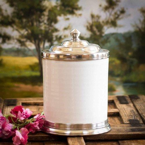 Convivio Canister by Match Pewter