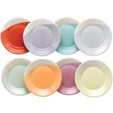 "1815 Bright Colors Tapas Plate, 6.3"" Set of 8 by Royal Doulton"