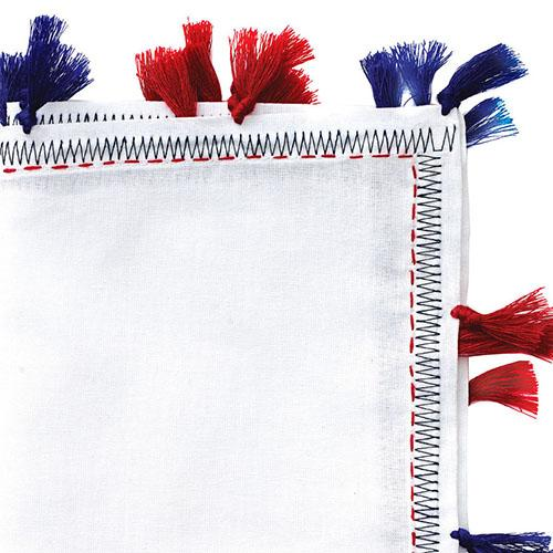 Pom Pom Cotton Napkin, Set of 4 by Kim Seybert