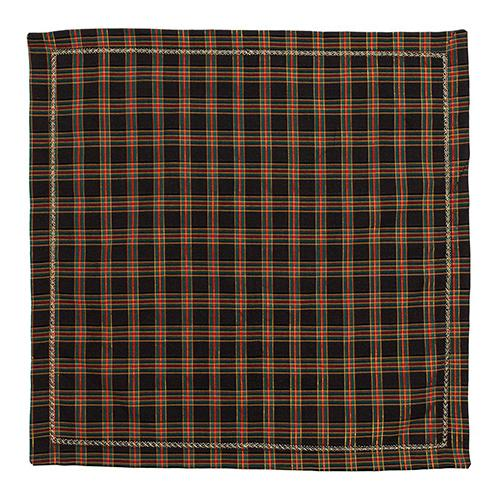 Xmas Plaid Napkin Set of 4 by Kim Seybert
